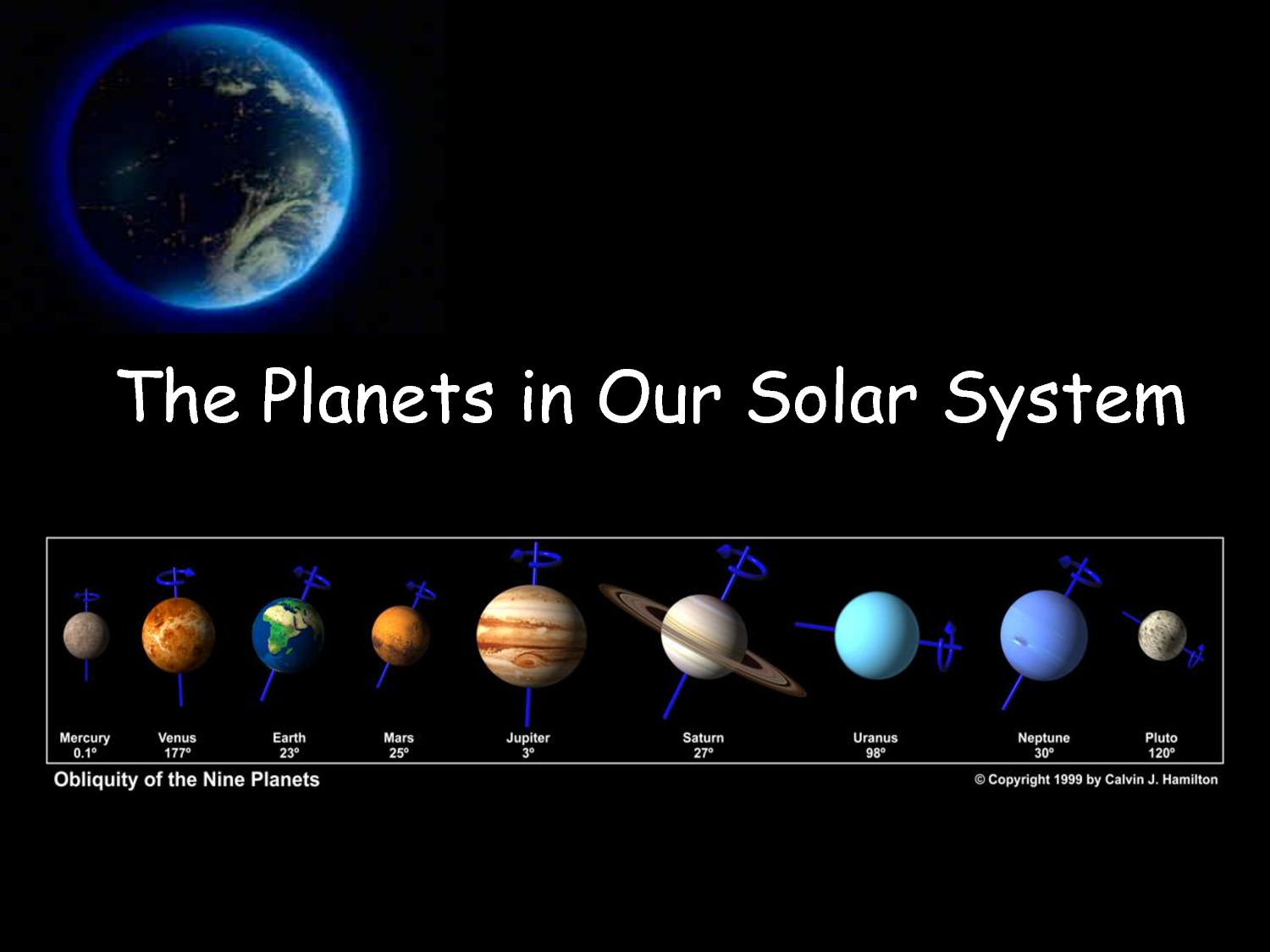 which are terrestrial planets in our solar system - photo #14